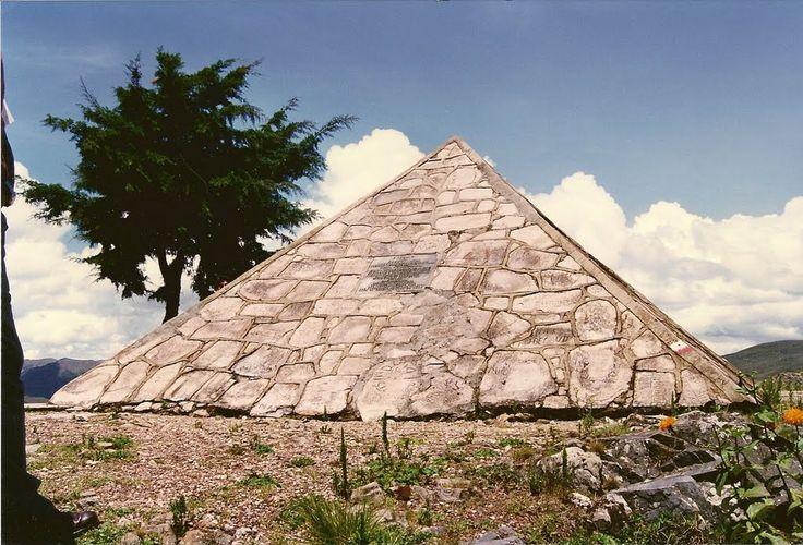 Pyramide de la source du Nil - Rutovu, Burundi
