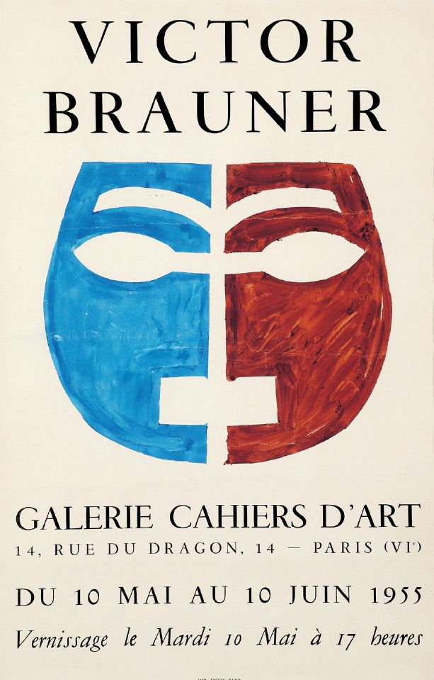 Brauner, Victor - Galerie Cahiers d'art