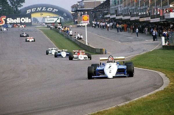 "Mike Thackwell - Ralt RH6 Honda/Mugen - Ralt Racing Ltd - VI Donington ""50,000"" 1984 - Derby Evening Telegraph Trophy - European F2 Championship, Round 10 - © Sutton Motorsport Images"