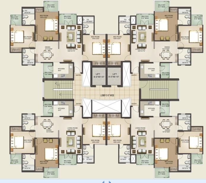 Hotel suites plan the image kid has it for Apartment design criteria