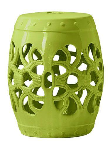 18 Inch Tall Ceramic Stool $49.99 @ Homegoods.com