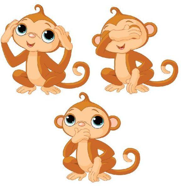 обезьянка рисунок - Поиск в Google