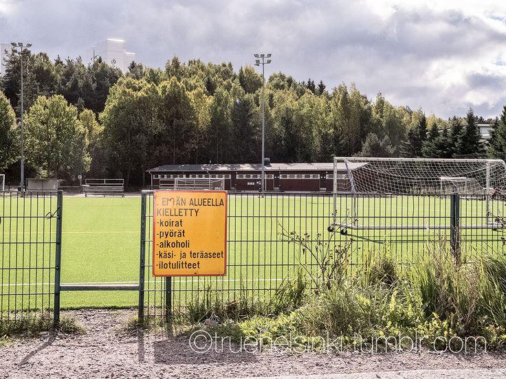 Sporting field in Savela