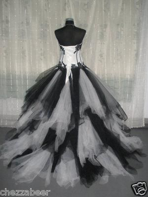 emo wedding | Exclusive Final Fantasy, Gothic, Emo Wedding/Ball Gown - 6