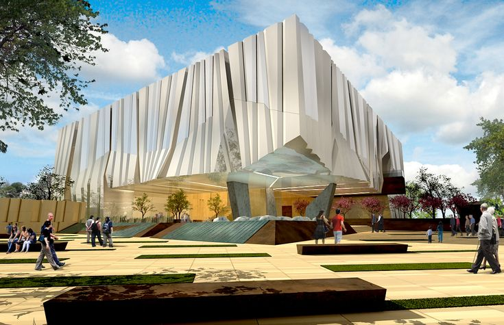 Designed by Alajajian-Marcoosi Architects Inc.. Alajajian Marcoosi Architectshas unveiled designs for an Armenian American museum, with the aim of educating the public on the Armenian American...