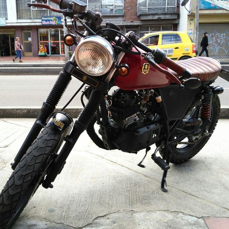 Suzuki brat  Savage scrambler custom
