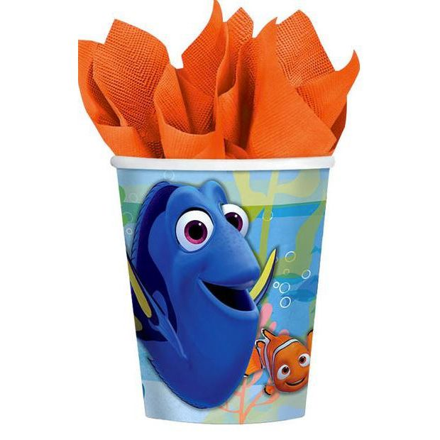 The perfect addition to your Finding Dory themed event!  The Finding Dory Paper Party Cups feature Dory, Nemo and Hank in their underwater world! Team with our Finding Dory Party Plates and Party Napkins as well.   #partytheme #findingdory #findingnemo #partyware #partycups #paper #cups #happybirthday #kidsparty #doryparty #designerkids #designerbaby #motherhood #event #styling #partyplanning #partyshop #partydecor #littlebooteekau