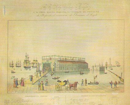 """Soglio di Nettuno Il """"Soglio di Nettuno"""" fu i il primo stabilimento balneare cittadino, aperto nel 1823 di fronte alla """"Sanità"""".Era ancorato davanti a piazza Giuseppina (oggi piazza Venezia) ed era raggiungibile in barca o su di una passerella lungo la quale si incamminavano distinti signori ed eleganti dame in abito lungo. Il proprietario e l'inventore del bagno fu il commerciante Domenico d'Angeli.Vasche per """"bagni"""" caldi e di acqua dolce accolsero l'Imperatore Francesco I il 13 giugno…"""