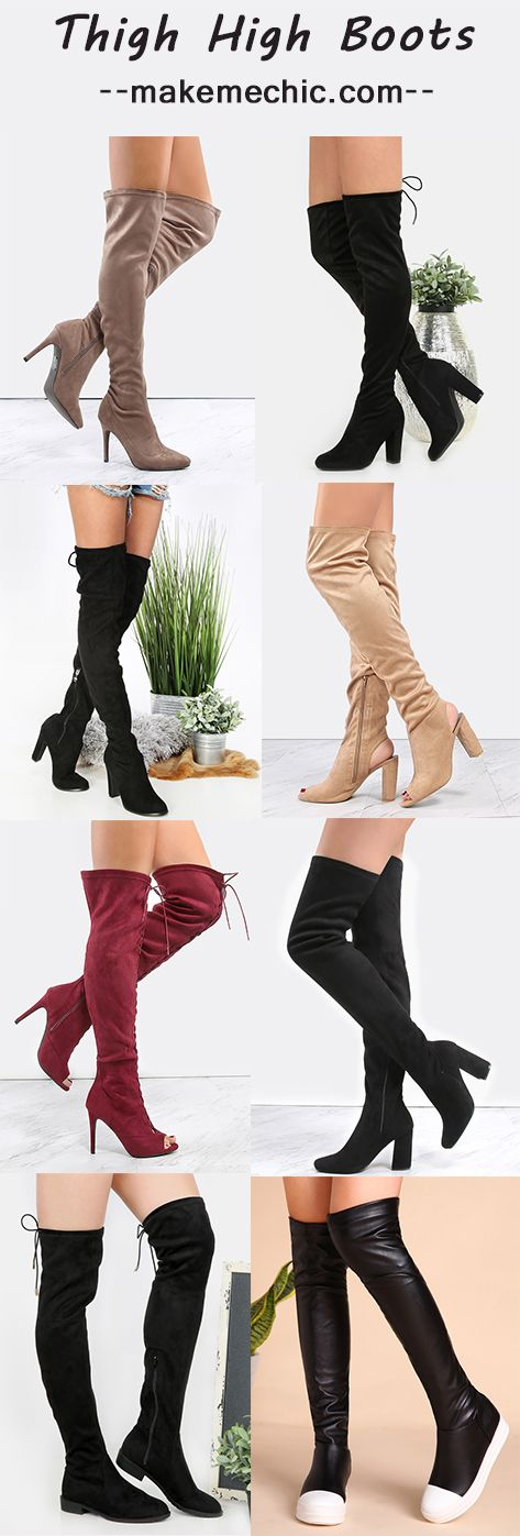 Thigh High Boots. Free Shipping Over $39, 20% OFF Your First Order