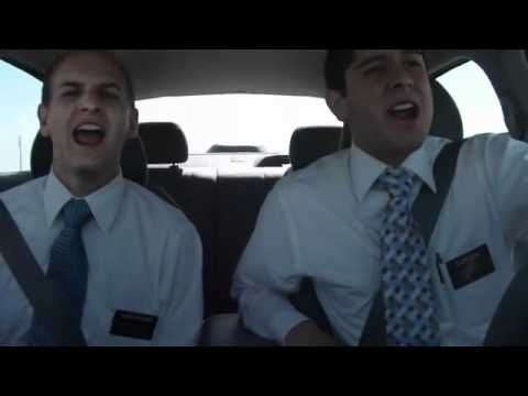 """Preston Butcher and Companion sing LDS song """"Heavenly Father - Are you Really There"""" a little tongue in cheek - So Funny!!"""