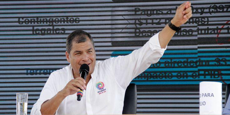 El presidente Rafael Correa llegará a la ciudad la noche del viernes y a las 10:00 del sábado presidirá el primer enlace ciudadano de 2017 desde el parque El Paraíso, informó ayer la gobernadora del Azuay, María Augusta Muñoz.