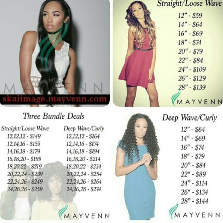 Here is a detailed price list of all my bundles be sure to Like,Save,and Share   Shop my 3 bundle deal at stizzy.mayvenn.com Buy 3 bundles get 25% off using code POP at checkout