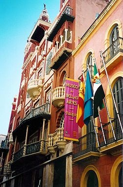 Fine arts museum.  Badajoz, SPAIN.