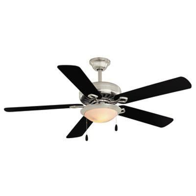 Hampton bay ventilateur de plafond southwind v de 52 po for Ventilateur de salon