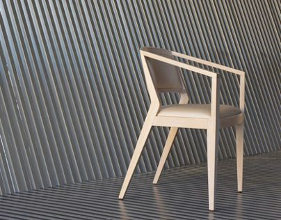 Chair designed by nuclistudio / Brull collection for Silleria Verges