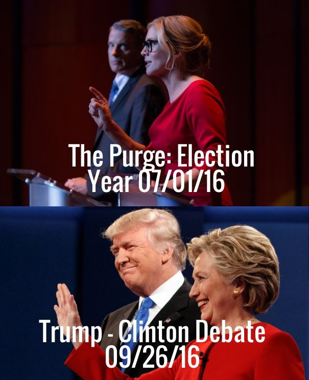 Check out my new PixTeller design! :: The purge: election year 07/01/16 trump - clinton debate...