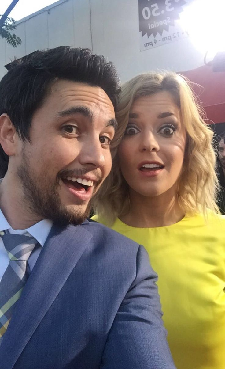 Grace and Chester at smosh premiere