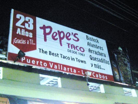 Pepe's Taco's soooooo good!!!