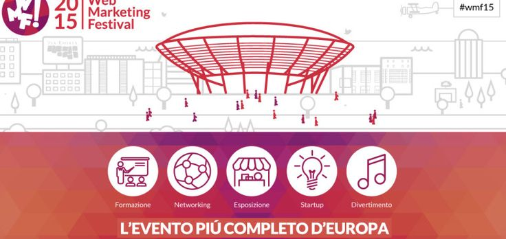 WMF Rimini noi ci siamo!  #wmf15 #rimini #Festival del #web #marketing