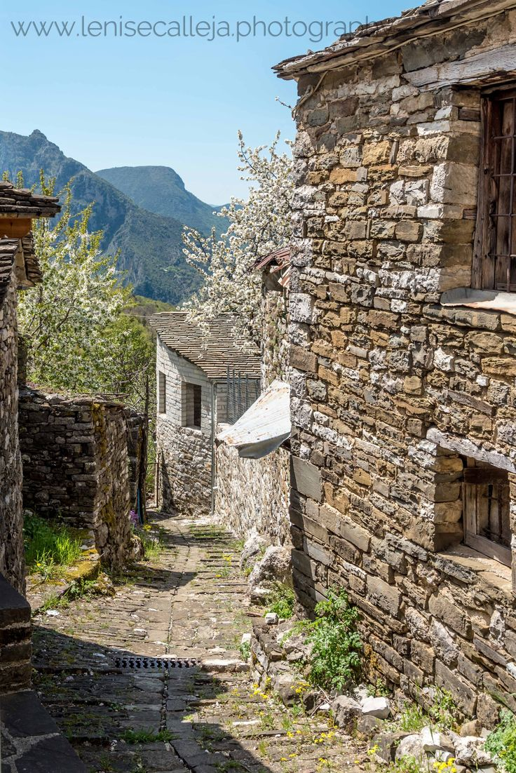 The picturesque village of Papingo in Northern Greece