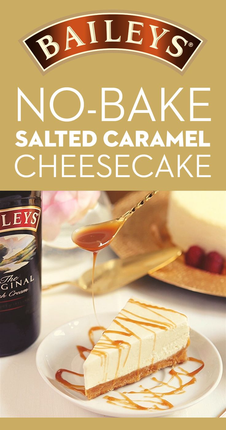 This no-bake, salted caramel-topped Baileys cheesecake is a perfect recipe for hosting friends. A touch of Baileys complements the salted caramel, while cool whipped topping makes the cheesecake extra fluffy. This dessert is easy to prepare and indulge in from Thanksgiving through the holidays. Beat 8oz cream cheese, ⅓ cup sugar, ¾ cup Baileys in large bowl with mixer until blended. Stir in cool whipped topping, spoon into crust, refrigerate for 3 hours. Serve topped with salted caramel…