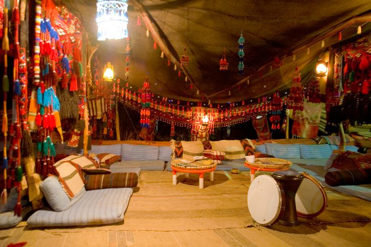 Bedouin Tent Egypt Sinai Gah Passes Out From The