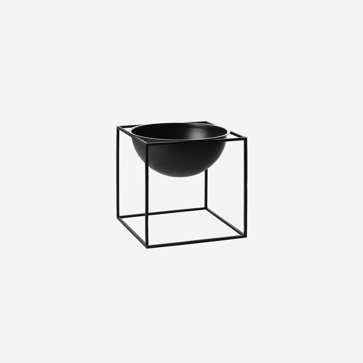 Kubus Bowl Small Black – SIMPLE FORM.