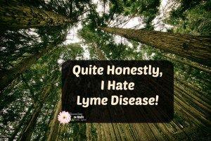I Hate Lyme Disease