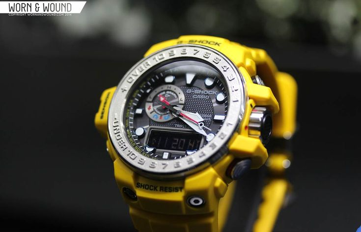 Really digging the overall look of the new Gulfman (Gulf Master), including the clean dial and metal bezel.  Not sure if yellow is the color for me though.