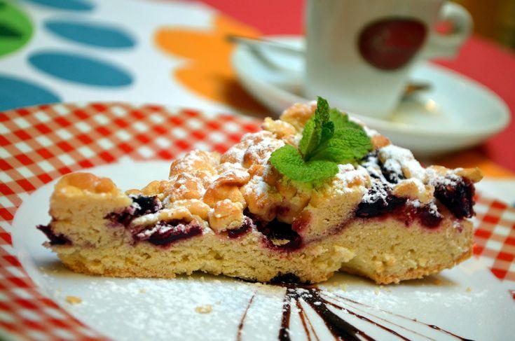 Višňový koláč / Cherries cake
