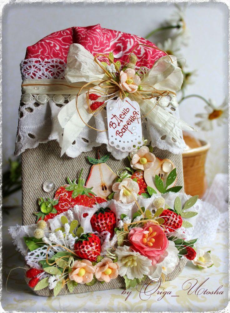 """The ArtChoice Blog: Задание-рецепт """"Ткань, рафия, цветы"""""""