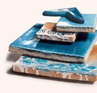 I Gioielli del mare / Cerasarda - the most beautiful tiles in the world! handmade at Costa Smeralda, Sardinia