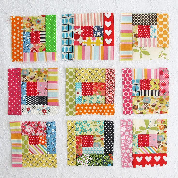 patchwork blocks   by michellepatterns