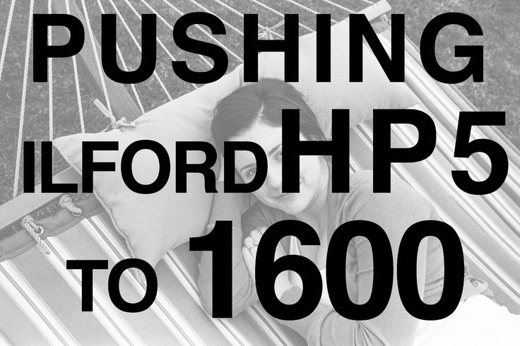 In this episode, I share some examples of pushing Ilford HP5 to 1600. This is how I've been shooting this film 100% of the time.