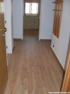 SENHOR FAZ TUDO - Faz tudo pelo seu lar !®: Colocação de pavimento flutuante e pinturas em Alf...