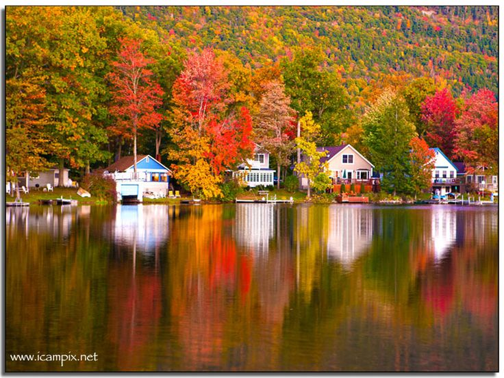Most Beautiful Fall Colors Burlington Vermont The