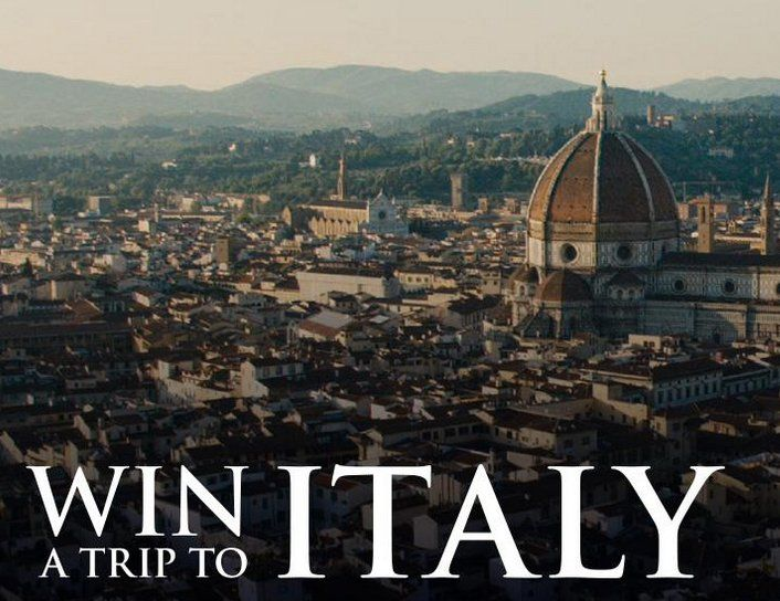 Win A 4 500 00 6 Day 5 Night Trip For 2 To Florence Italy Transportation From Airport Hotel Walking Tour Of And Gift Card