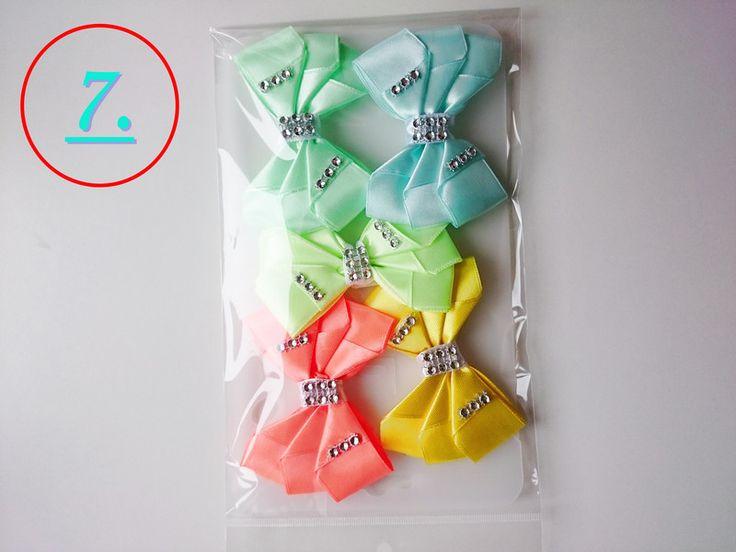 Gastgeschenke - Ein Satz dekorativen Bändern auf ein Geschenk  - ein Designerstück von atelier-house-decor bei DaWanda