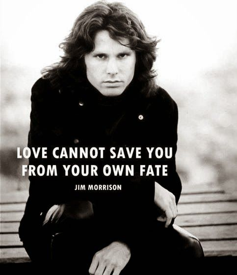 ~These are some of the best Jim Morrison Quotes from his collections of poetry.
