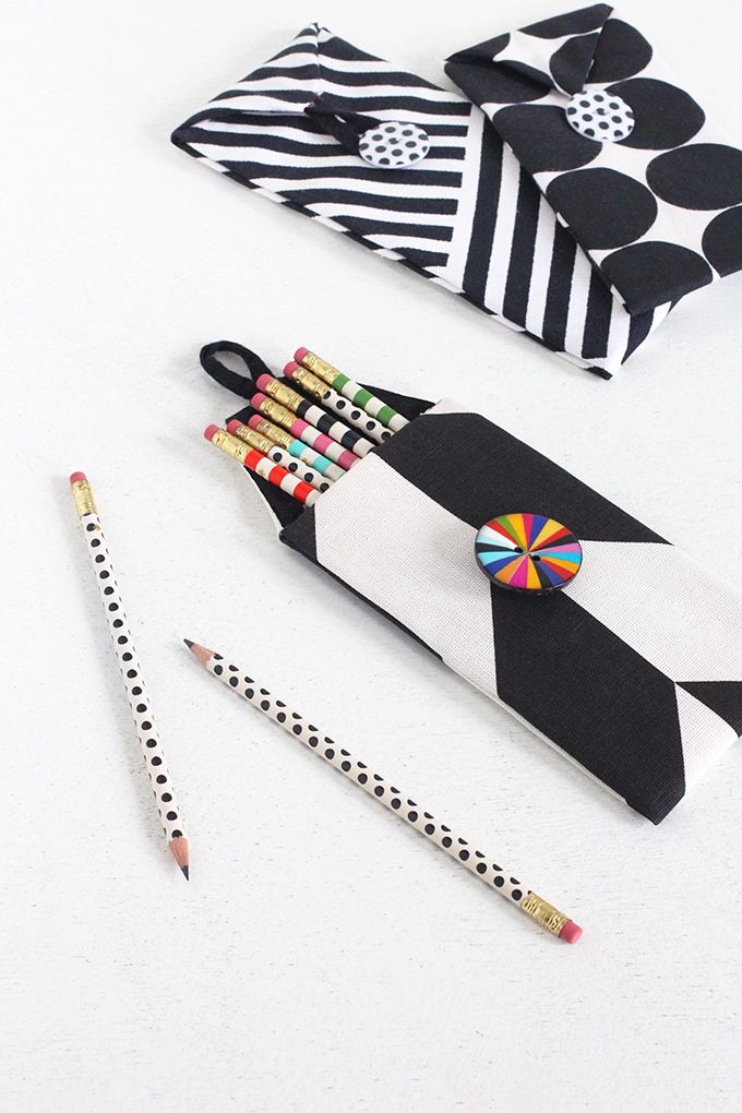 MY DIY | No-Sew Print Pencil Case | I SPY DIY