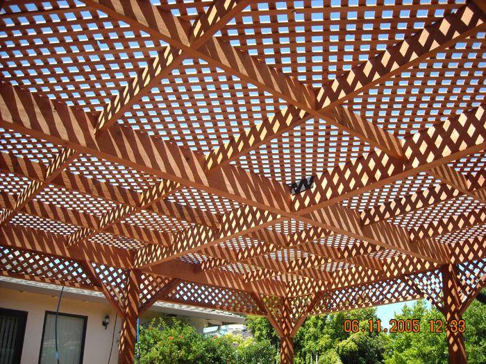 lattice patio covers patio covers coastal lumber - Lattice Patio Ideas
