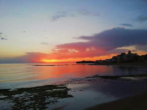 Sunset..punta secca, sicily.