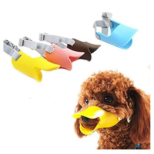 OFT Hundemaulkorb Haustier Maul Korb Duckbill Ente Gesicht Lippenmaulverstellung Adjustable Muzzle (Blau,L,16.5x30): Amazon.de: Küche & Haushalt