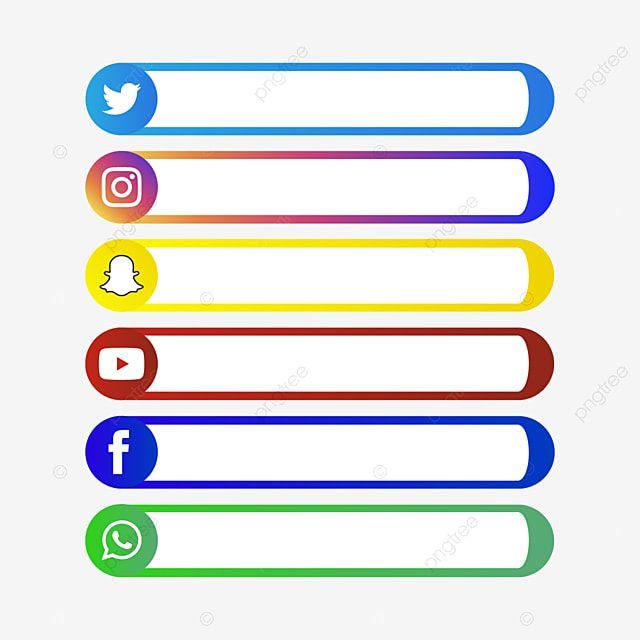 Icones De Midia Social Icones Midia Social Instagram Imagem Png E Vetor Para Download Gratuito Social Media Icons Social Media Icons Vector Media Icon