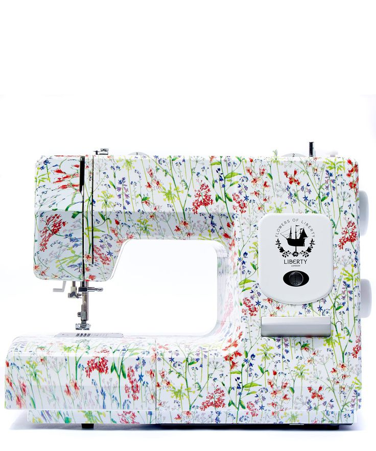 Oh so lovely Flowers of Liberty Theodora Liberty Print Sewing Machine | Home | Liberty.co.uk