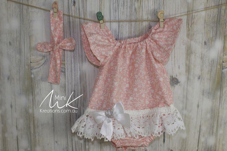 Skirt Onesie Pink 0000 suit newborn or 17/18 inch Reborn Doll
