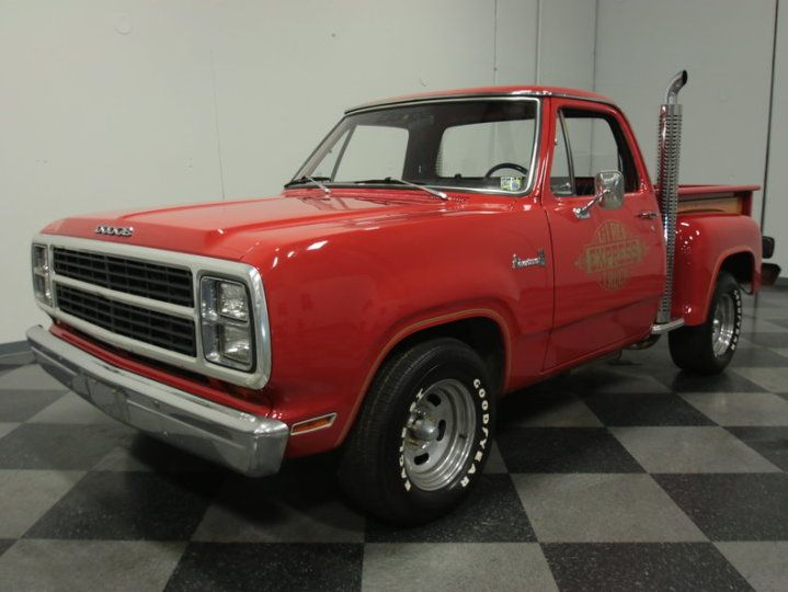 Used Classic Car For Sale in Lithia Springs, Georgia: 1979 Dodge Lil Red Express - GreatVehicles.com Classified Ads