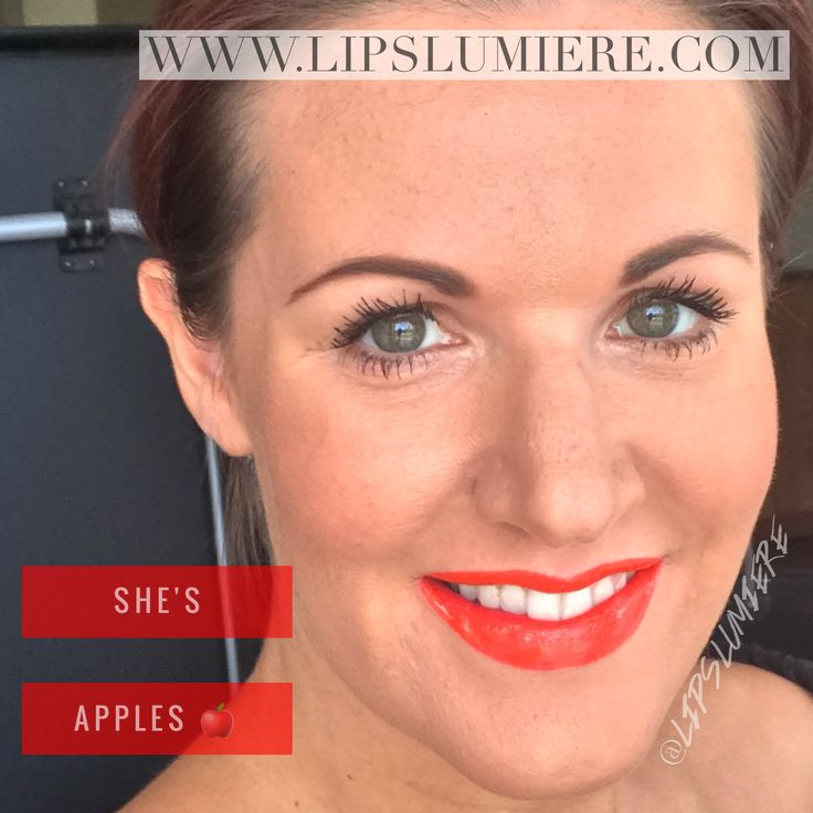 She's Apples limited edition LipSense  4-18 hour wear, smudge proof, kiss proof, bleed proof lipstick. Non gmo, no wax, no lead, not tested on animals.  Order direct or join my team as a distributor for up to 50% off. www.senegence.com/lipslumiere For more info visit www.lipslumiere.com Facebook https://www.facebook.com/lipslumiere/