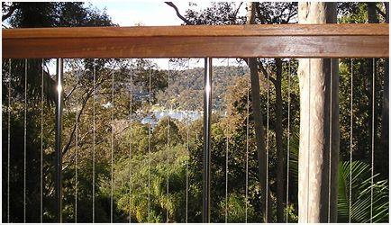 Fence steel wire wood