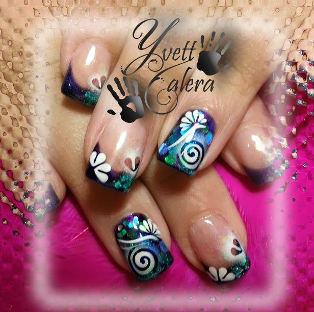 The 25 best airbrush nail art ideas on pinterest 3d nails art airbrush nail art prinsesfo Choice Image